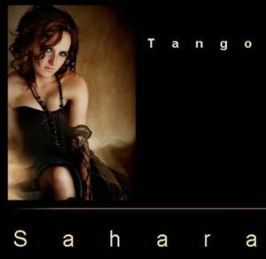 woman in black dress tango