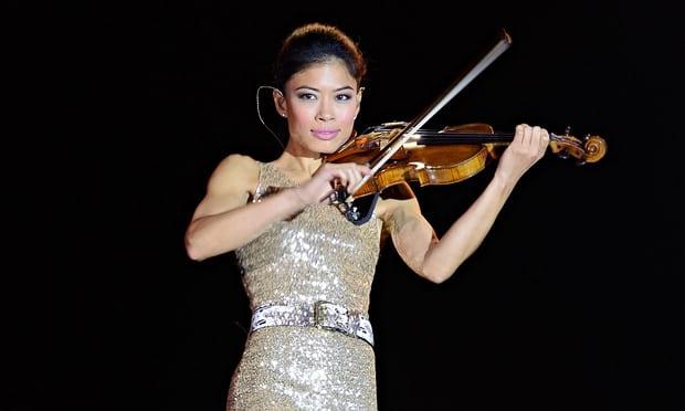 solo violinist vanessa mae