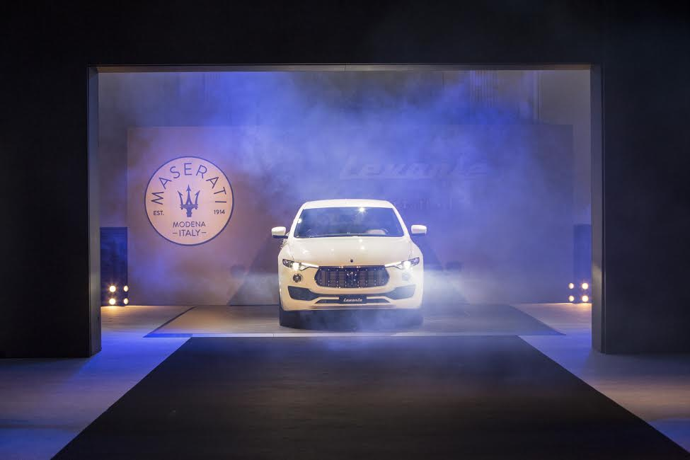 Maserati London corporate entertainment